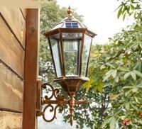 Европейский стиль алюминиевый настенные светильники led Водонепроницаемый балкон лампа проходу открытый травы настенный светильник