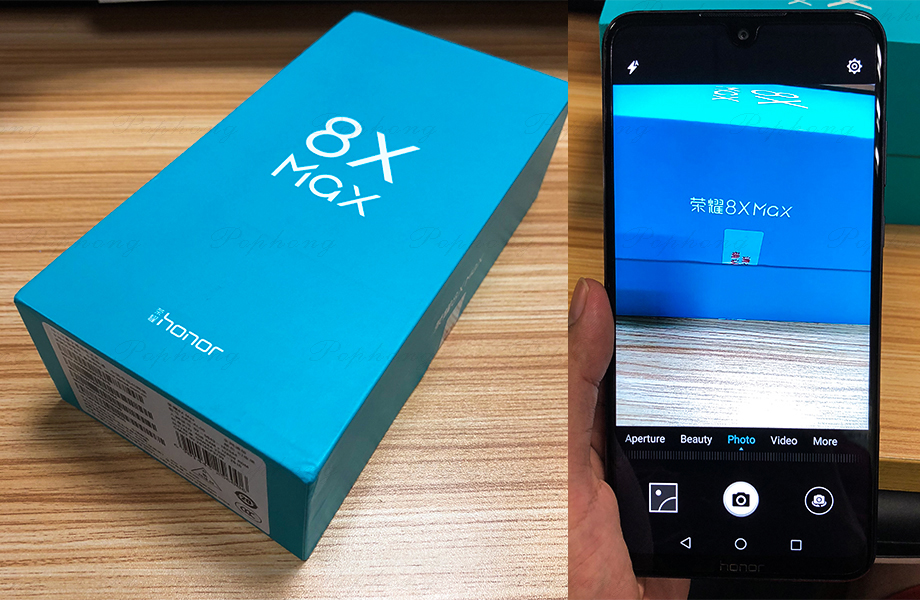Huawei Honor 8X Max 7,12 ''большой Экран OTA обновление LTE смартфон 8X Max мобильного телефона Android 8,1 Octa Core 1,5 ГГц Экран 5000 мАч
