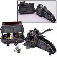 Star Wars Snoke's Throne Room Imperial Conveyex Transport Set Legoing StarWars 75216 Model Building Blocks Bricks Children Toys