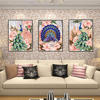 DIY 5D Diamond Painting Kit Crystal Rhinestone Diamond Embroidery Paintings Pictures Arts Craft for Home Wall Decor 150*65cm