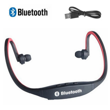 Universal Bluetooth Headset Wireless Sport Heaphone Portable Earphone with USB Charge Cable for Mobile Phones