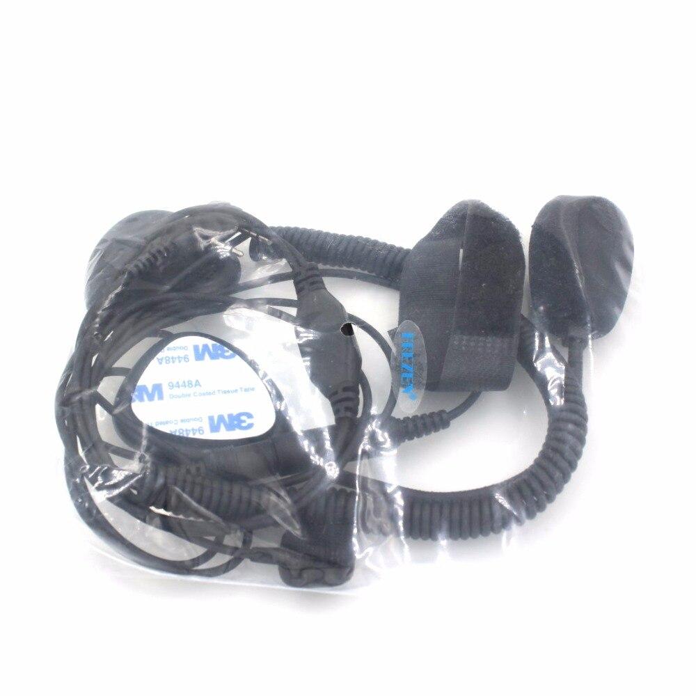 2 Pin Finger Ptt Motorcycle Helmet Radio Headset Microphone For Kenwood Wiring Diagram 3207 Baofeng Uv5r Uv5ra Ham Walkie Talkie In From Cellphones