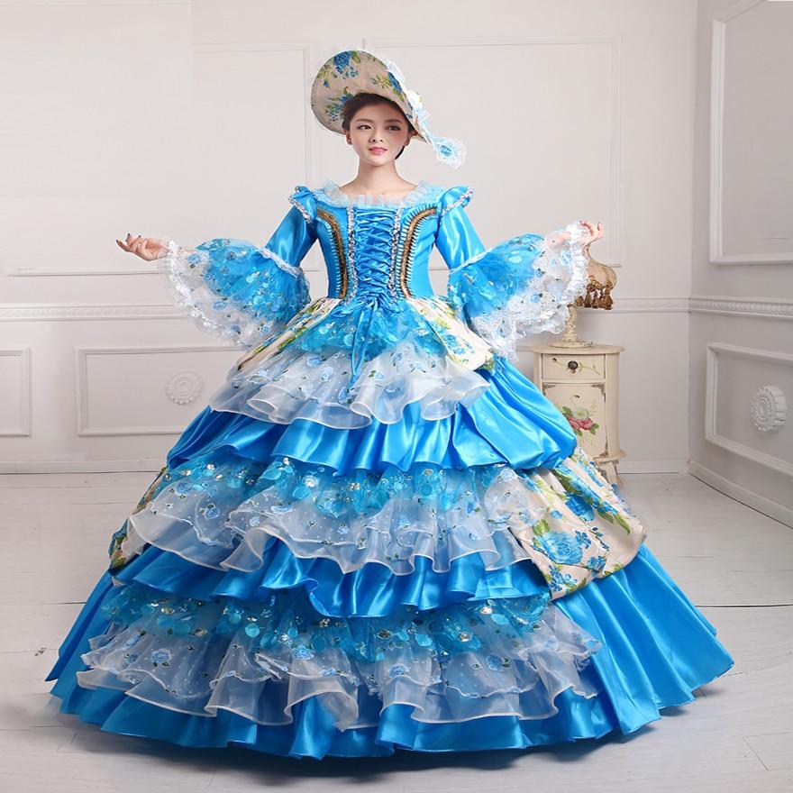 Hohe Qualität frauen Prom Gothic Viktorianischen Phantasie Palace ...
