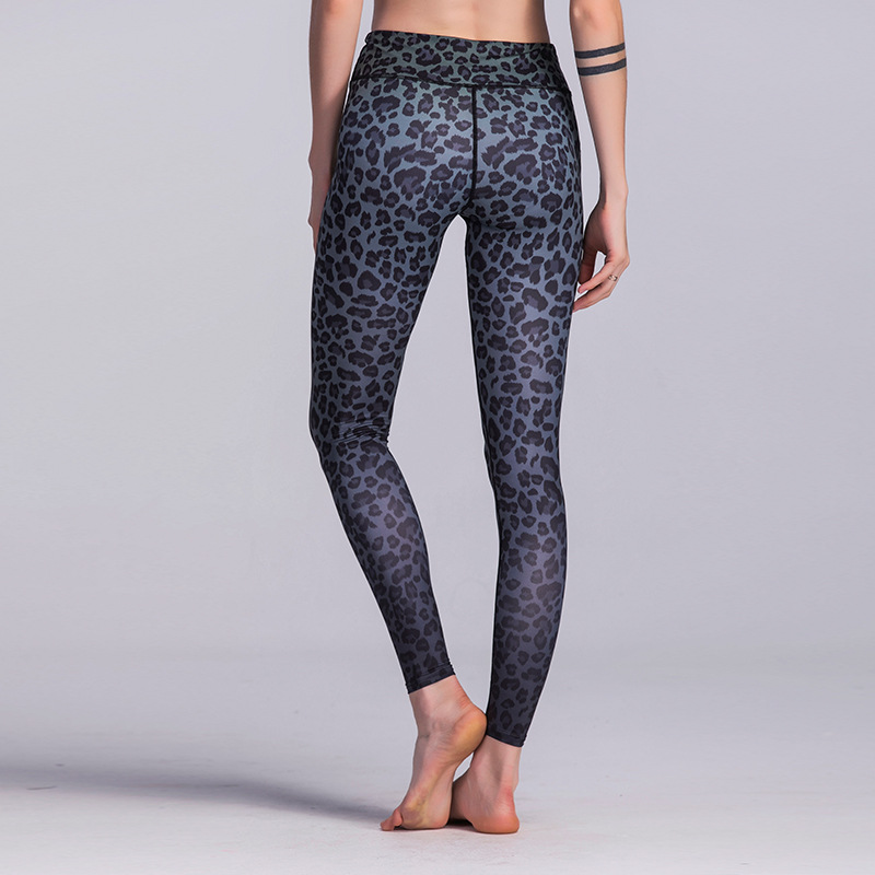 2018 Sexy Yoga Pants Black Sport Leggings High Waist Push Up Fitness Slim Gym Running Tights Workout Sports Pants For Women