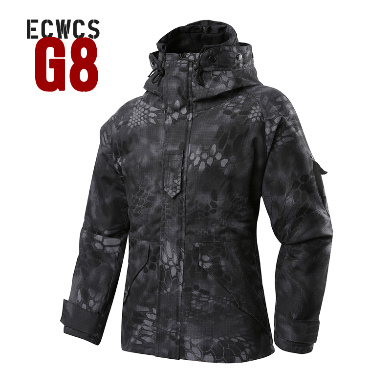 2019 Softshell M 65 Winter G8 ECWCS softshell hunting jacket men Windbreaker Typhon Hoody field hiking