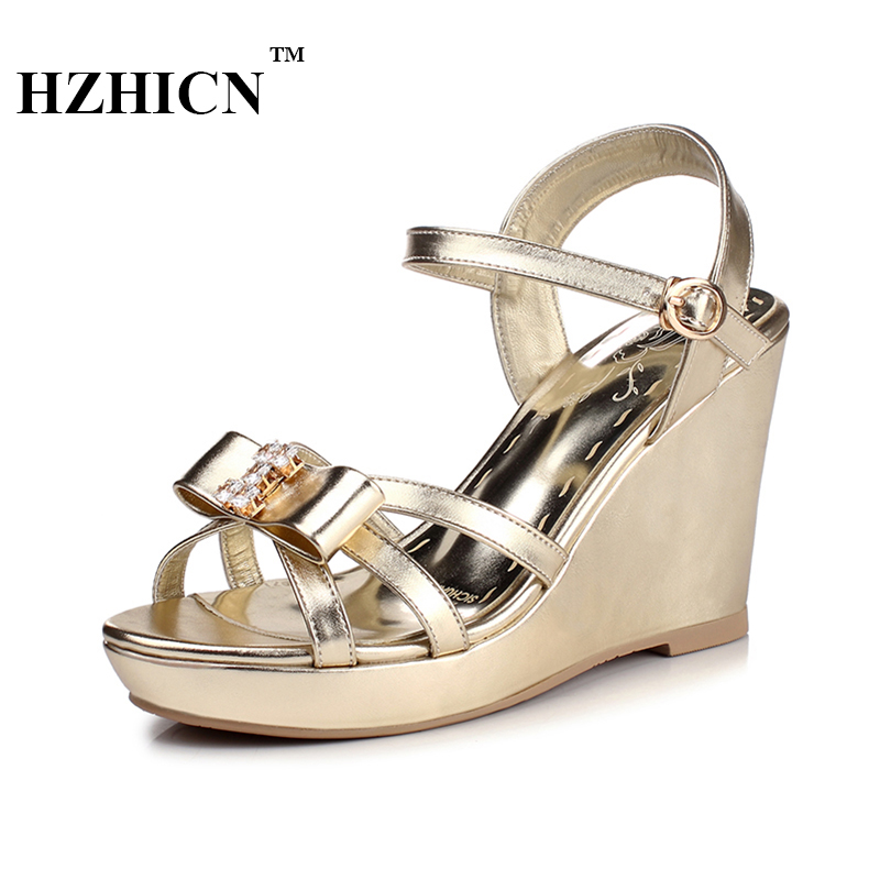 2017 New Women Wedges Sandals Women's Platform Sandals Fashion Summer Shoes Women Casual Shoes Free Shipping HZHICN phyanic 2017 gladiator sandals gold silver shoes woman summer platform wedges glitters creepers casual women shoes phy3323