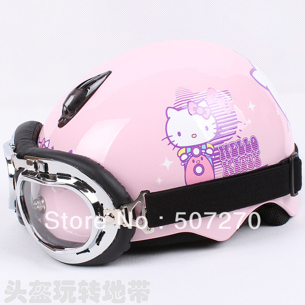 "Hello Kitty Electric Car Motor: D.15 Taiwan ""HUA TAI"" Half Face Child Scooter Children's"
