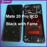Witrigs Für Huawei Mate 20 Pro LCD Display Touch Screen mit Rahmen Digitizer Montage für mate20 pro 100% Original