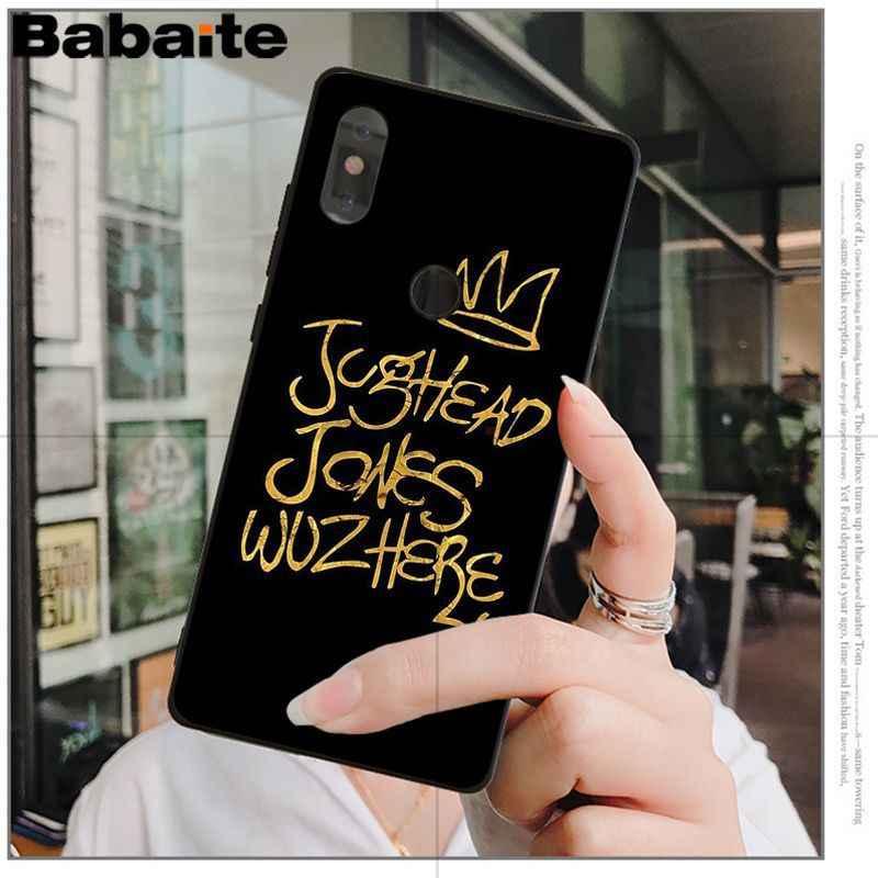 Babaite Riverdale South Side Serpents Pattern TPU Phone Case for xiaomi mi 6  8 se note2 3 mix2 redmi 5 5plus note 4 5 5 coque