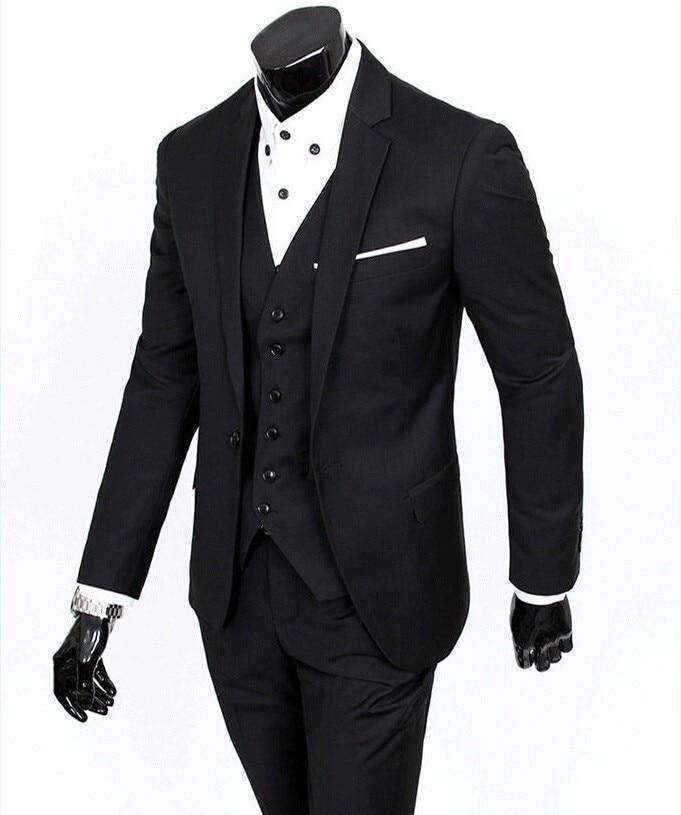 5f1363eca الجانب تنفيس العريس سهرة رفقاء 4 ألوان الزفاف/عشاء/بذلات سهرة أفضل رجل  العريس (سترة + بنطلون + ربطة عنق + سترة) b17