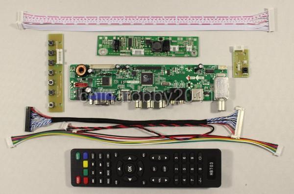 21.5 pollici T215HVN01.0 M215HW03 V1 V2 TV/PC/HDMI/CVBS/RF/USB/AUDIO lcd Scheda del controller VST29.03B pannello dello schermo (senza LCD)