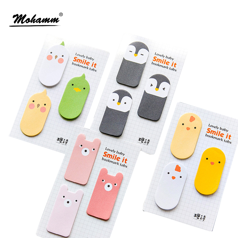 45sheets/lot Cute Animals Japanese Notebook Memo Pad Self-Adhesive Sticky Notes Office School Supplies Post It Memo Pad 1000 label self adhesive sticky a4 sheets address labels inkjet laser copier printer ebay amazon sticky address post pack paper