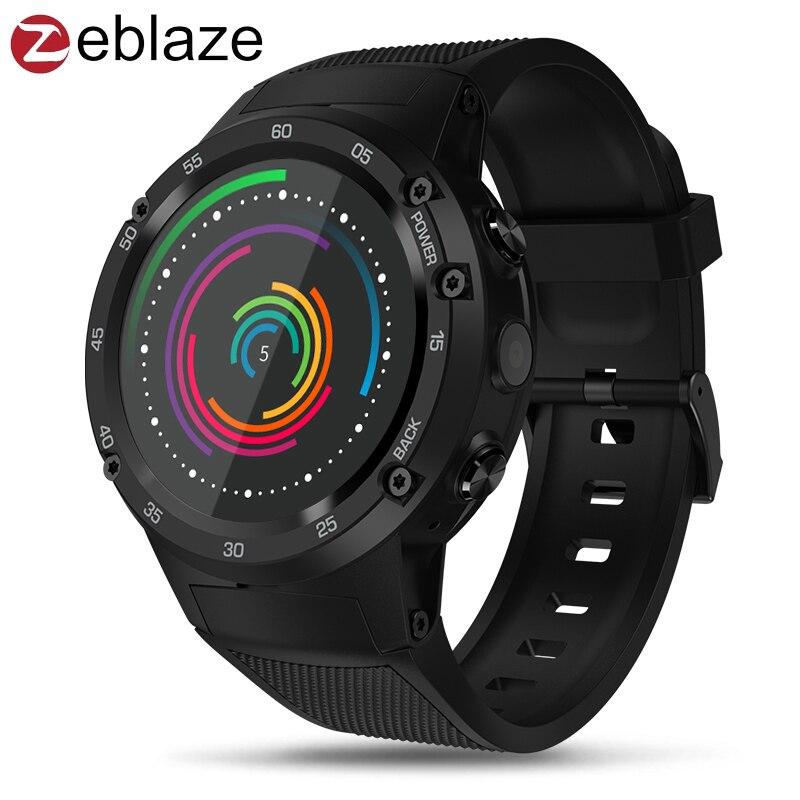 Zeblaze Thor PRO 3g GPS Smart Montre Téléphone 1.53 IPS Android 5.1 1 gb 16 gb Sport Smartwatch hommes 2.0MP Caméra Moniteur de Fréquence Cardiaque