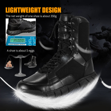 Summer thin Outdoor sport brand Hiking shoes Men Tactical Combat army military fishing trekking women boots Breathable sneakers