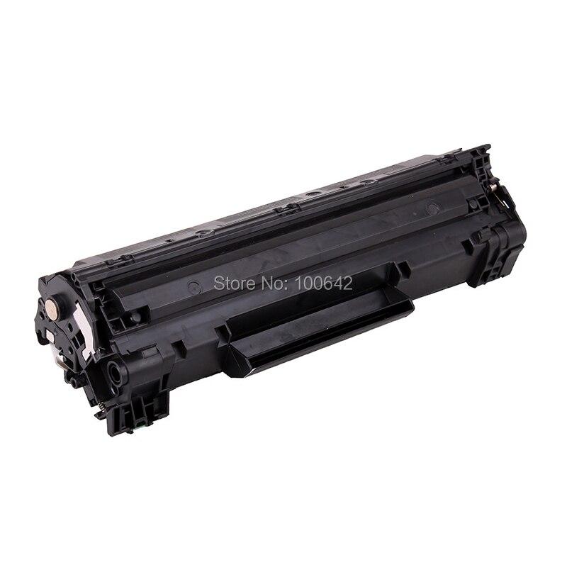 ФОТО 1pcs Black toner cartridge for HP CF283A for HP Laserjet pro M127NF M126NF M125NW M125 M126 M127 M128 M201 M225 Series Printers