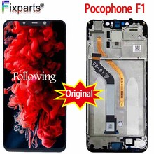 Original For Xiaomi Poco F1 LCD Display Touch Screen Digitizer Assembly Replacement Mi Pocophone