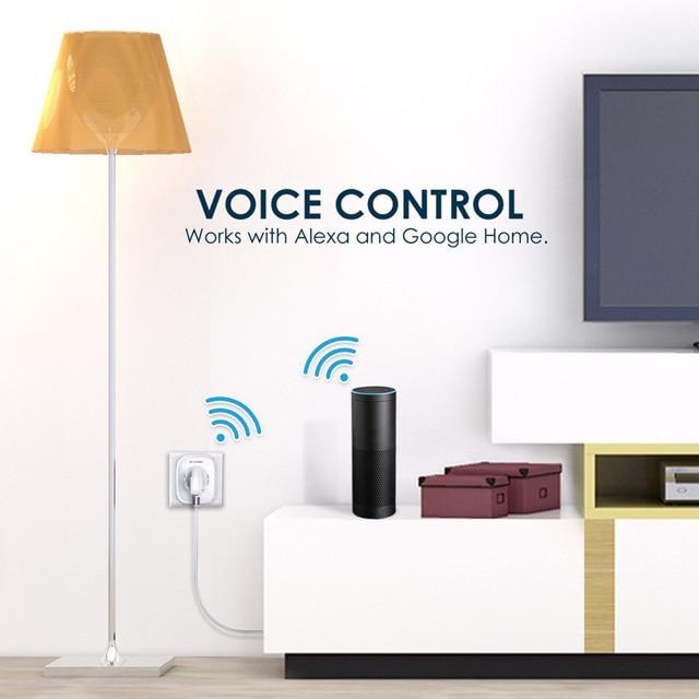 BlitzWolf-BW-SHP2-WIFI-Enchufe-Inteligente-UE-220V-16A-Interruptor-de-Temporizador-Inteligente-con-Control-Remoto