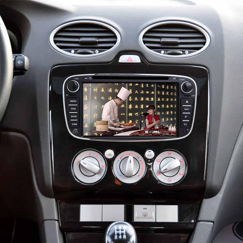 2 DIN Android 8.1 DVD Xe Hơi Dành Cho Xe Ford Focus 2 Mondeo 4 C-Max S-Max Galaxy kugatransit Kết Nối Đa Phương Tiện Phát Thanh Gpsnavigation