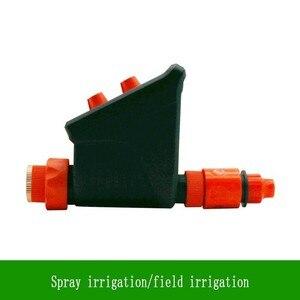 Image 4 - Novo Botão Duplo À Prova D Água Inteligente Temporizador de irrigação Por Gotejamento Sistema conjunto de Pulverização De Micro Controlador de Rega Dispositivo de Rega Do Jardim