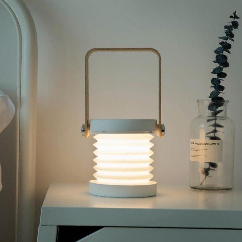 Jipush Creatieve Outdoor Hand Lamp Usb Opladen Hoofd Verlichting Led Lamp; Bureaulamp Leeslamp Hand Lichten