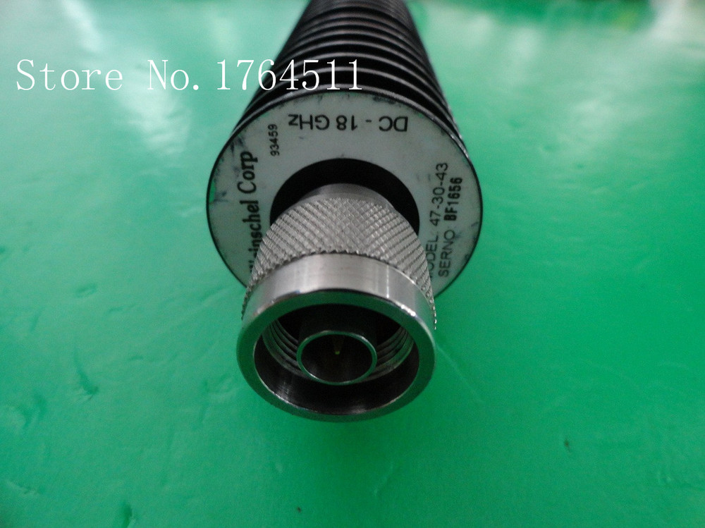 [BELLA] The Supply Of Weinschel 47-30-43 DC-18GHZ 30dB Coaxial Fixed Attenuator 50W