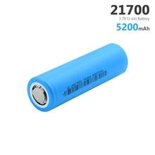 1/2/4/6/8/10 Pcs 3.7V 5200mAh 21700 batterie au Lithium Li-ion Max. 35A courant de décharge haute décharge Batteries rechargeables 21700