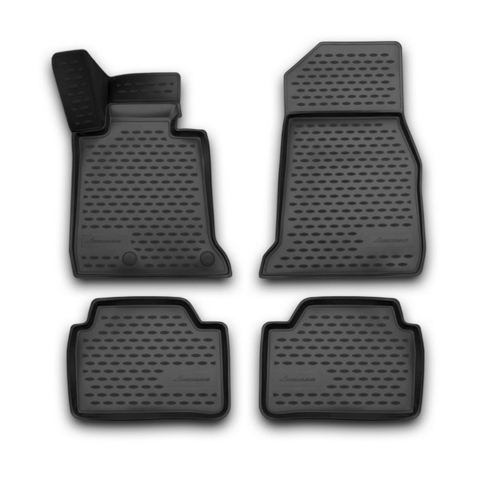 3D Floor mats for BMW 1-series F20 2011-2018 Element NLC3D0533210K