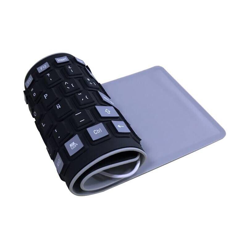 2 Spanish Keyboard Silicone
