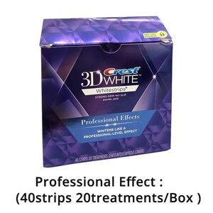 Image 3 - 3D White Whitestrips Luxe Professional Effects Oral Hygiene Original Glamorous White Strips Teeth Whitening Strips Dental Whiten