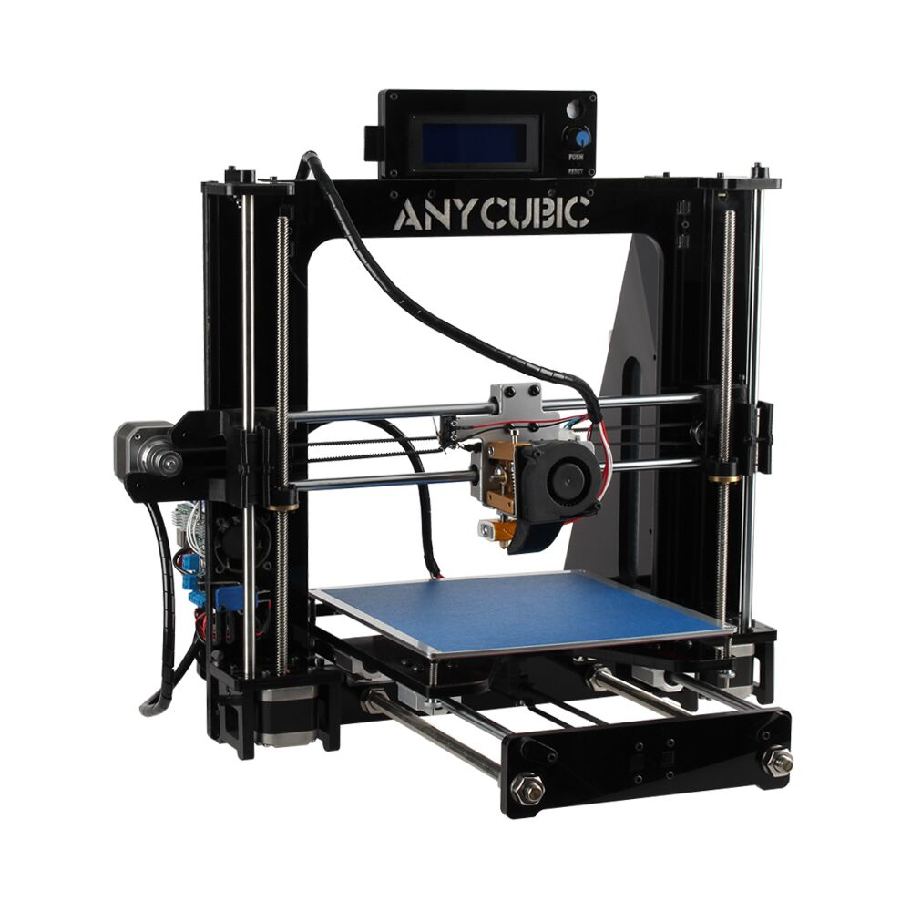 Anycubic Big size High Quality Precision Easy Assemble Reprap Prusa i3 desktop 3d Printer DIY kit with 8GB SD card for free