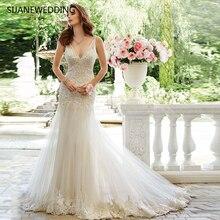 SIJANEWEDDING SIJANE Vintage Mermaid Wedding Dress