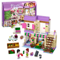 Bela 10495 Friends Heartlake Food Market building bricks blocks Toys Girl Game Toys for children House Gift  Decool Lepin  41108