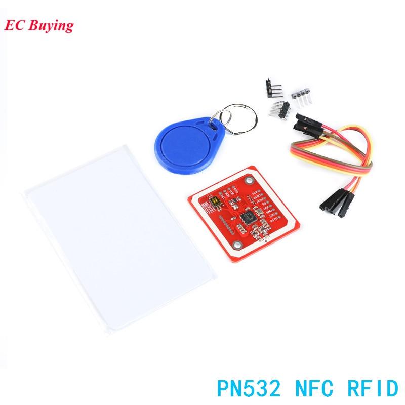 1Set PN532 NFC RFID Wireless Module I2C IIC SPI HSU V3 User Kits Reader  Writer Mode Electronic DIY Kit For Arduino