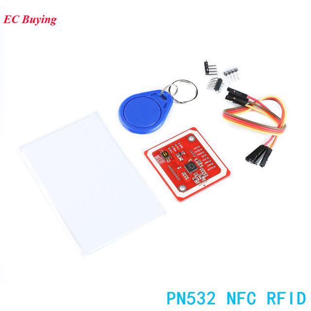 US $4 56 5% OFF|1Set PN532 NFC RFID Wireless Module I2C IIC SPI HSU V3 User  Kits Reader Writer Mode Electronic DIY Kit For Arduino -in Integrated