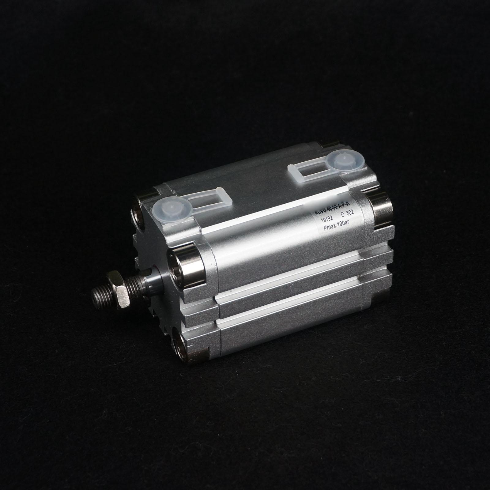 ADVU-40-50-A-P-A Compact Air Cylinder Bore 40mm Stroke 50mm Doub Act festo imported cylinder advu 25 160 a p a s6
