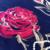 Two-Sided Flor Impressão Cachecol de Caxemira e Pashmina Xale para As Mulheres de Lã Inverno Moda Luxo Floral Pashmina para Senhoras