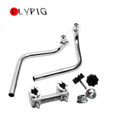 New 1 Set HANDLEBAR HANDLE BAR FOR HONDA Z50 Z50J MONKEY DAX CT70 Z50R 50 Stainless Steel Chromed Motorcycle Dirt Pit Bike Parts