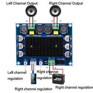 Image 2 - TDA7498 HD مضخم الصوت مجلس مكبر للصوت 100*2 فئة D مكبرات الصوت الرقمية لوحة مكبر للصوت A1 008