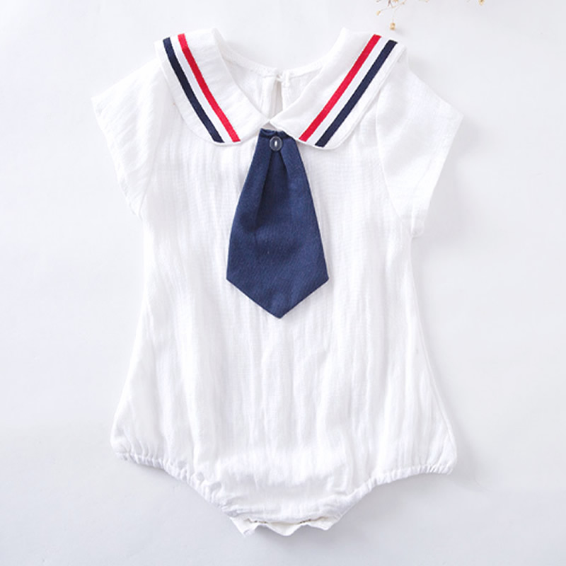 Baby Rompers 2018 Hot Sale Fashion Newborn Navy Style Clothing Baby Boy Girl Jumpsuits S ...