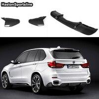For BMW F15 X5 Auto Car Rear Splitter Apron Bumper Diffuser 2014 2015 2016 2017 Only M Tech M Sport