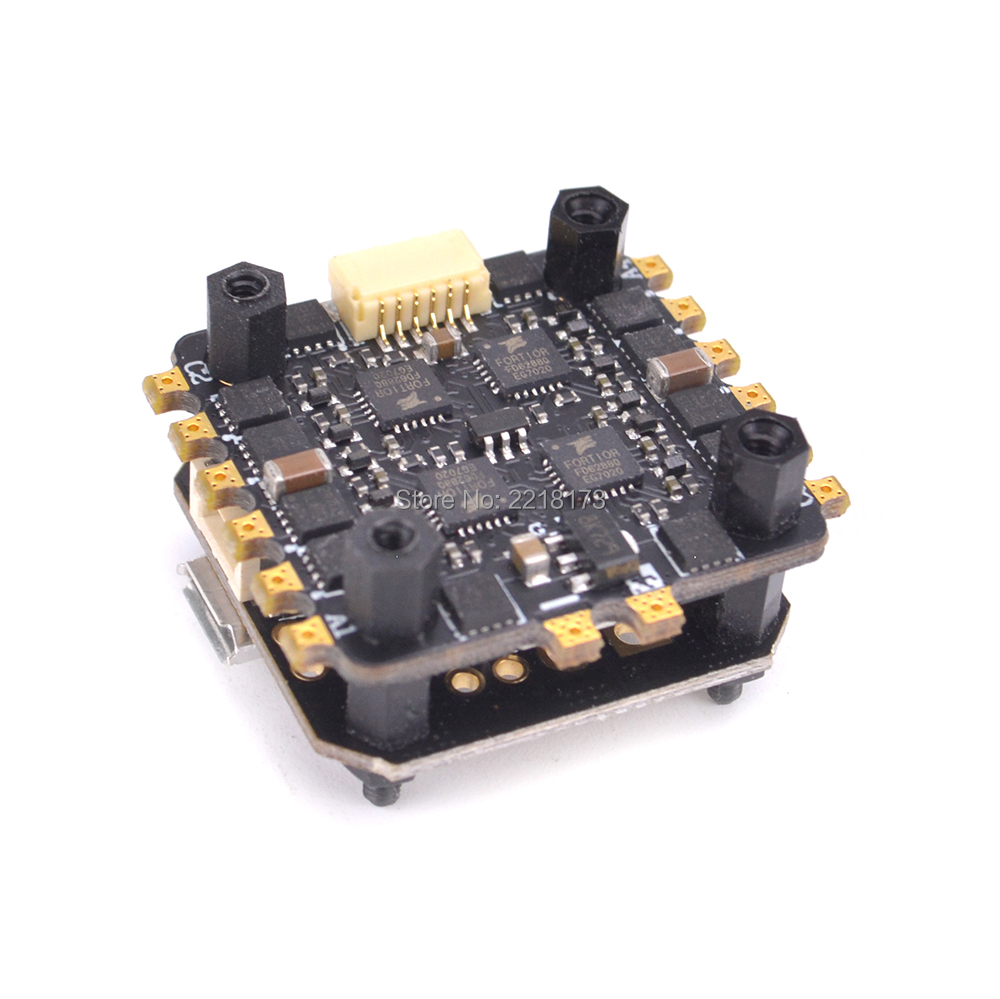 PIKO BLX Micro Flight Controller Board + 25A 4 in 1 BLHeli ESC for mini indoor FPV RC Racing Drone ix2 90mm 80mm F3 CleanFlight