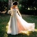 Wedding Dress 2017 Beach Wedding Dresses Boho Wedding Dress Chiffon lace applique Wedding Dresses Country Vestido De Noiva