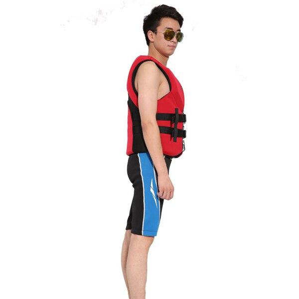 Hisea adult life vest buoyancy thickening drift vest marine snorkeling swimming suit Surfing scuba children lifejacket 4colors11