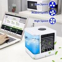 Портативный мини-кондиционер вентилятор персональное пространство кулер быстро легко способ охладить любое пространство офис стол Кондиц...