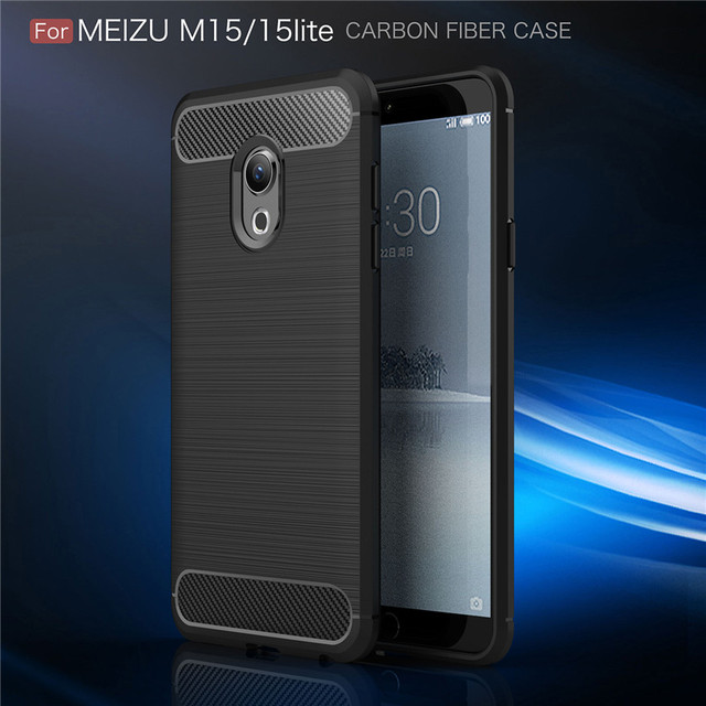 For Meizu 15 Lite M15 Case Cover Fitted TPU Cases For Meizu 15 Lite M15 High Quality Soft TPU Back Phone Cover