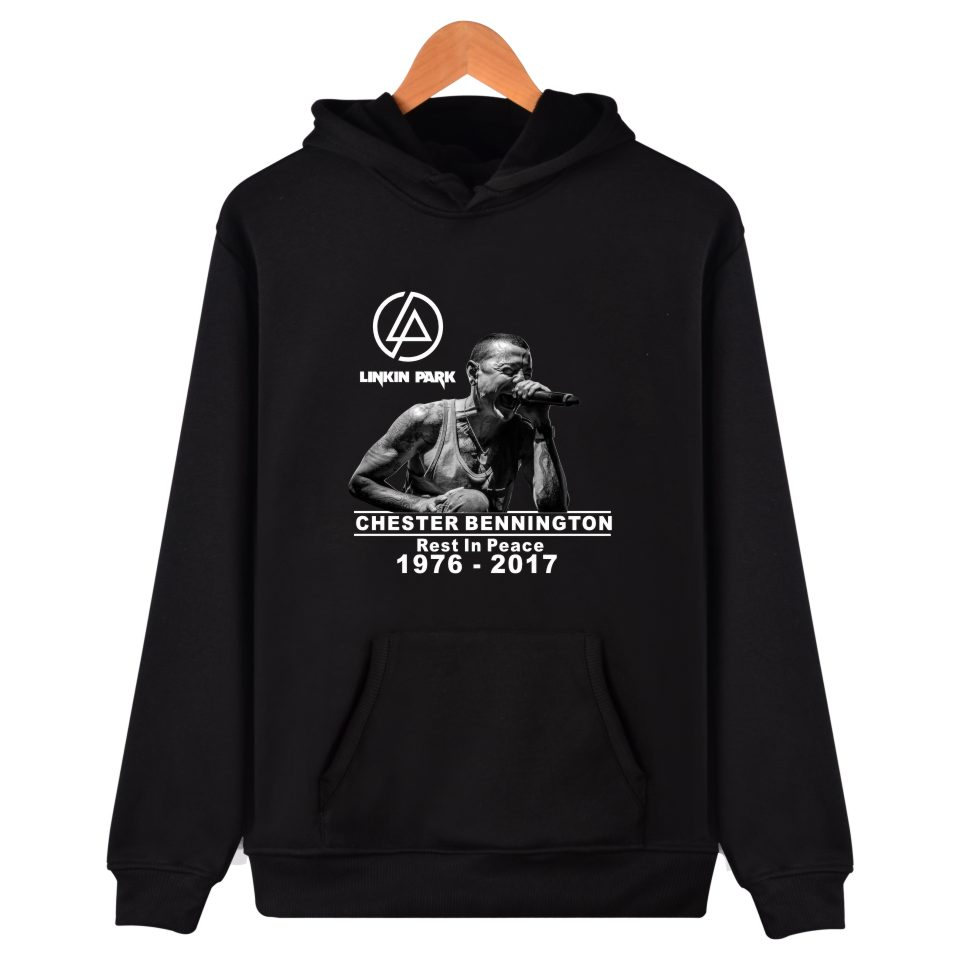 LUCKYFRIDAYF 2017 Linkin Park R.I.P Chester Fans Hooded Winter Hoodies Women Set Fashion Autumn Sweatshirt Casual Clothes
