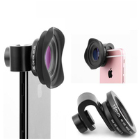 HD 4K 15MM Phone Lens Full Screen Professional Optical Camera Wide Angle Macro Lenses For iPad iPhone Samsung Huawei xiaomi Len