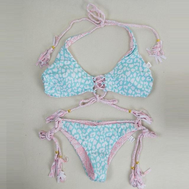 Brazilian Bikini Front Lace Up
