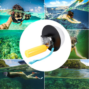 Image 5 - アクセサリー防水15メートルのダイビング透明レンズドームポート付き防水ケース用xiaomi yi xiaoyiカメラ水中