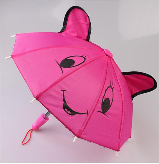 1pcs Umbrella Rain Coat Doll Clothes for18inch American Girl Dolls Zapf Baby Born Dolls  ...